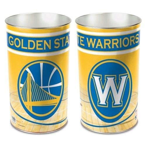 - Wincraft Golden State Warriors NBA Tapered Wastebasket (15