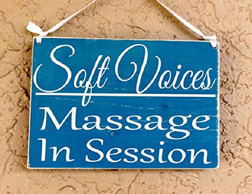 amazon com soft voices massage in session therapy spa salon 10x8
