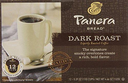 Panera Bread  K Cup Single Serve Coffee  12 Count  4 66Oz Box  Pack Of 3   Choose Flavors Below   Dark Roast