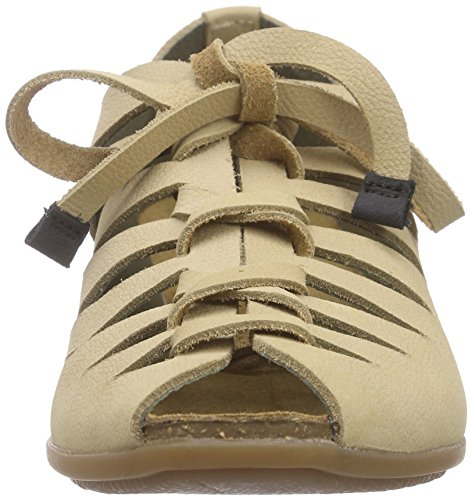 El Naturalista Womens Nd52 Stella Wig Sandal Crust Leather Nature