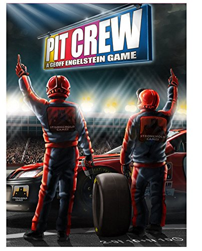 Stronghold Games Pit Crew Board Game - Teamwork Board Games