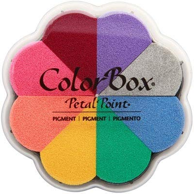 Clearsnap NOM223787 Colorbox Pigment Petal Point Option Pad 8 Colors, -