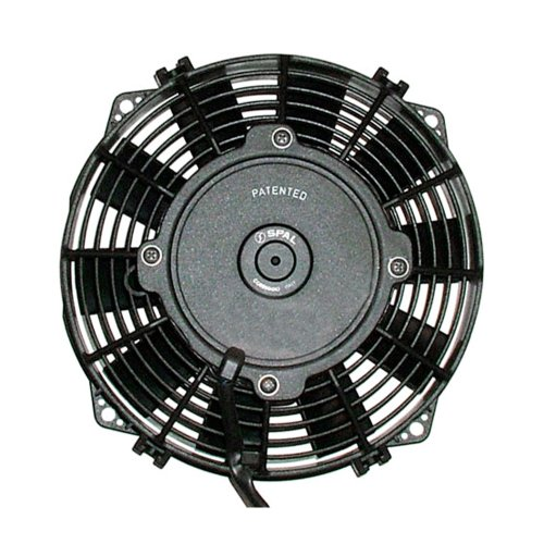 Spal 30100360 10'' Straight Blade Low Profile Fan by Spal