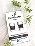 expresso shots starbucks - COFFEE starbucks earrings, double shot, whole bean, expresso, starbucks card cup, cold brew, stud earrings, coffee lovers