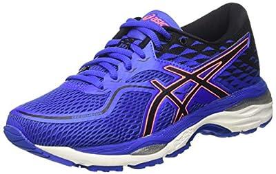 ASICS Gel-Cumulus 19 Womens Running Trainers T7B8N Sneakers Shoes (UK 5.5 US 7.5 EU 39, Blue Purple Flash Coral 4890)
