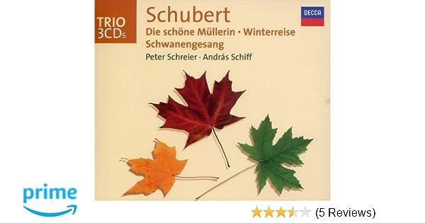 Franz Schubert, Peter Schreier, Andras Schiff - Schubert: Die Schone ...