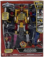 Amazon.com: Power Rangers 43596 Ninja Steel Deluxe Megazord ...