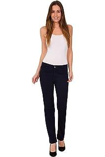 Ex M/&S Women Stretchy Jeans Ladies Roma Rise Slim Fit Soft Mark Spencer Per Una