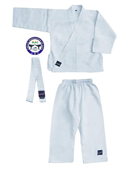 e2c93dffe USI Boys Universal Bouncer Karate Dress Unisex Kids Martial Art Dress Black  White Including Top Pant
