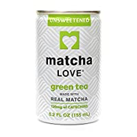 Matcha Love Green Tea, Unsweetened, 5.2 Ounce (Pack of 20), Unsweetened, Zero Calories, No Artificial Sweeteners, Caffeinated, Good Source of Vitamin C