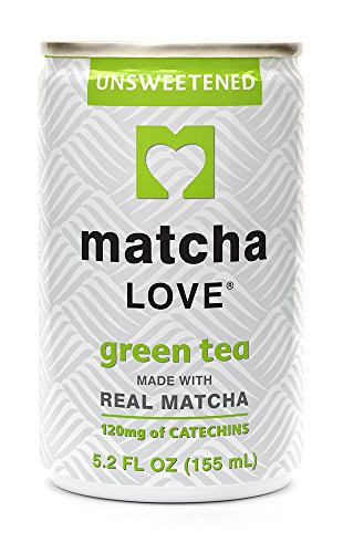 Matcha Love Green Tea, Unsweetened, 5.2 Ounce (Pack of 20), Unsweetened, Zero Calories, No Artificial Sweeteners, Caffeinated, Good Source of Vitamin C by Matcha Love