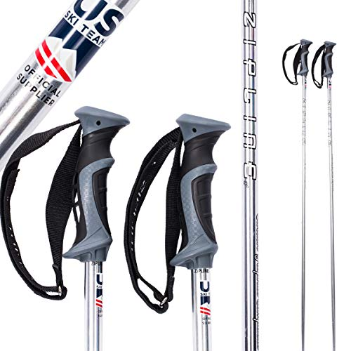 Ski Poles Graphite Carbon Composite - Zipline Blurr 16.0 - U.S. Ski Team Official Supplier