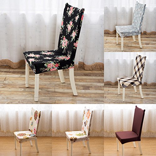 Chairwoman Underwrite - Banquet Elastic Stretch Spandex Chair Seat Cover Party Dining Wedding Restaurant Decor - Cut Professorship Blanket President Encompass Preside Masking - 1PCs
