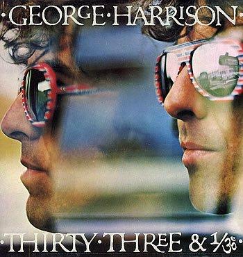 George Harrison Thirty Three & 1/3 1976 UK vinyl LP K56319