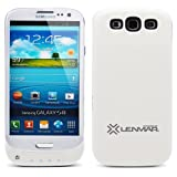 Pulsar Samsung Galaxy S III / S3 Extended Battery Case - White by Lenmar