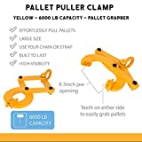 Haosegd Industrial Pallet Puller Clamp 6000 lbs