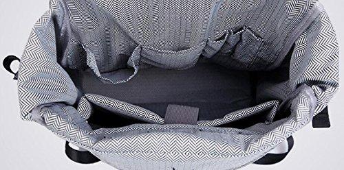 ZHANGOR Mochila De Poliéster Business Computer Bag Reflective Para Outdoor Bag Para Reflective Estudiantes Negro, Masculino Y Femenino b0cec3