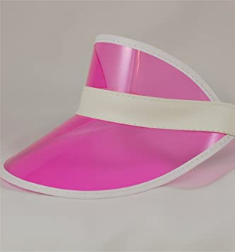 Pink Sun Visor - Ideal For Hen Parties - Fancy Dress - Pub Golf ... a65d59028c2