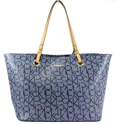 Calvin Klein Ck Logo Purse Bag Xl Tote