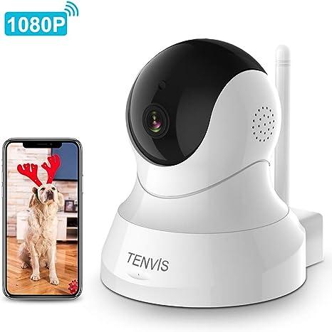 Amazon.com: Cámara para perro, cámara para mascotas TENVIS ...
