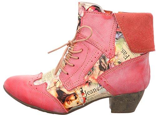 TMA - Botines, diseño clásico Mujer Multicolor - rojo