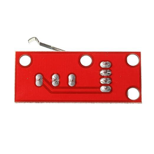 UEETEK Interruptor de fin de carrera mecánico de 5 pcs con cables ...