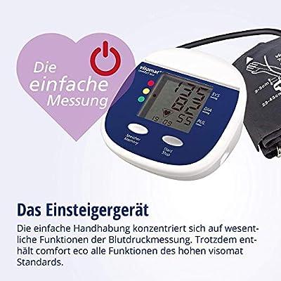 Roche Visomat Comfort Eco Plus - Medidor de presión de brazo + ...