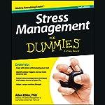 Stress Management For Dummies, 2nd Edition | Allen Elkin PhD