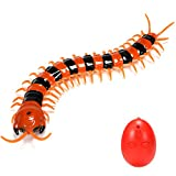 Emorefun Joe Creative Funny Infrared Remote Control USB RC Centipede Scolopendra Creepy Crawly Toy Stress Relief Vent Tricky Toys Gag Gift