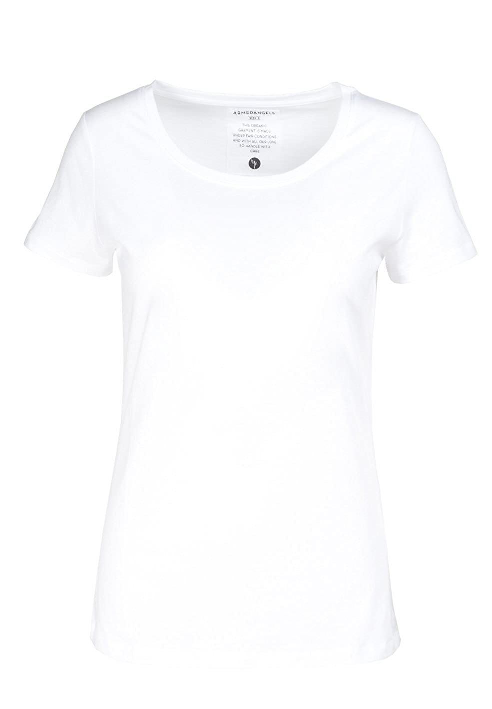 armedangels Damen T-Shirt aus Bio-Baumwolle - Mari - GOTS, Organic, CERES-08
