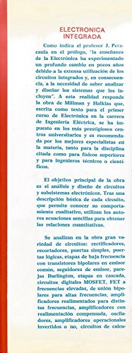 Electrónica Integrada: Circuitos y sistemas analógicos y digitales.: Amazon.es: Libros