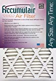 Accumulair® Diamond 14x20x1 (13.5x19.5) MERV 13 Air Filter/Furnace Filters (2 pack)