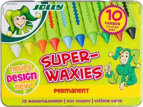 10 pezzi JOLLY 5955-0015 materiale educativo Superwaxies Classic