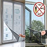 White Insect Mosquito Door Window Mesh Screen Sticky Nylon Tape Net