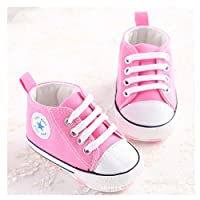 Save Beautiful Toddler Baby Girls Polka Dots Shoes Infant First Walkers (0-6m...