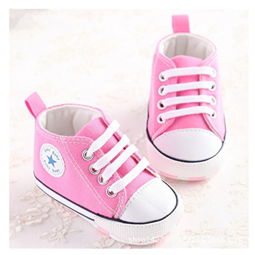 Infant Baby Girl Shoes (Save Beautiful Toddler Baby Girls Polka Dots Shoes Infant First Walkers (6-12months, Pink2))
