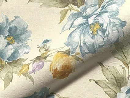 Rotonda 717 - Tela para tapicería, diseño de Flores, Color ...