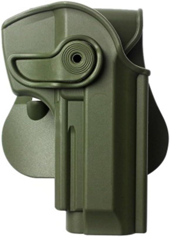 IMI Defense Taurus Pistola Holster Verde Mano derecha z1260PT/92pt99/PT100