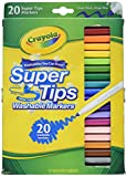 Super Tips Washable Markers (20 Pack) [Set of 2]