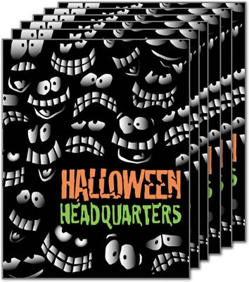 Halloween Headquarters - Standard Posters (6pk) - 22