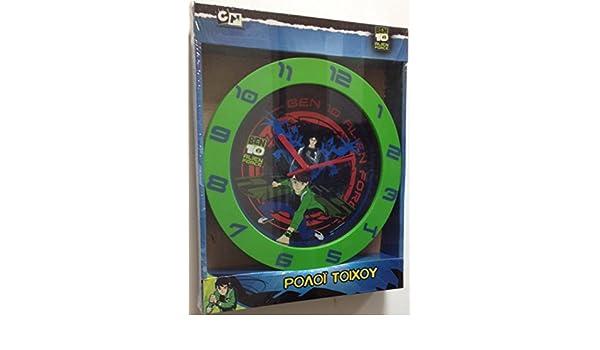 Reloj de pared Ben 10: Amazon.es: Bebé
