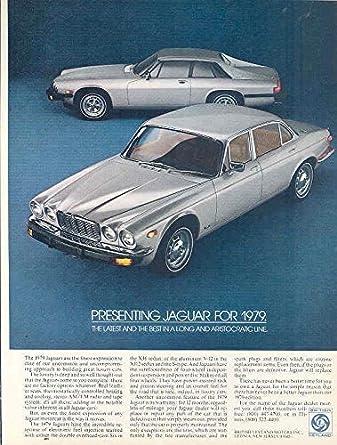 1979 Jaguar XJ6 XJS Magazine Ad Saab 900 Turbo