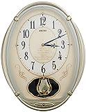 SEIKO CLOCK ( Seiko clock ) wall clock wave Symphony radio clock twin -Pas AM222H