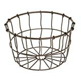 American Metalcraft Bronze Wire Serving Basket 7Dia x 4 1/4H