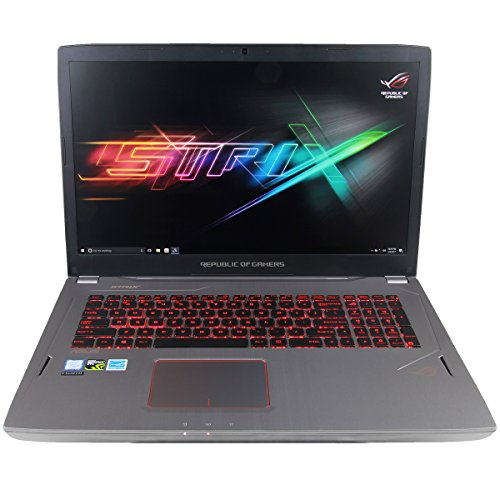 CUK ASUS GL702VS ROG Gamer Laptop (Intel Quad Core i7-7700HQ, 32GB RAM, 512GB NVMe SSD + 1TB HDD, NVIDIA GTX 1070 8GB, 17.3″ Full HD 120Hz 5ms, Windows 10) – VR Ready Gaming Notebook Computer