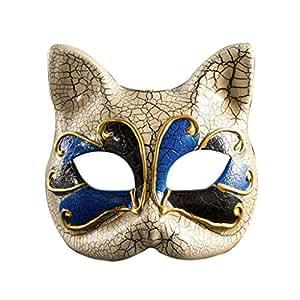 Amazon.com: Máscara para niños de Yeswunan, estilo veneciano ...