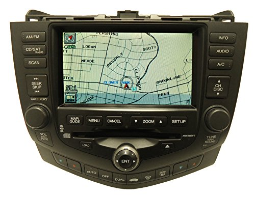 07 Honda Accord Radio - 7