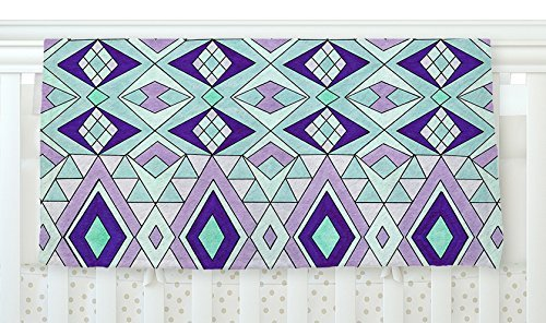 KESS InHouse KESS Original Baby Moroccan Blue Pink Fleece Baby Blanket 40 x 30