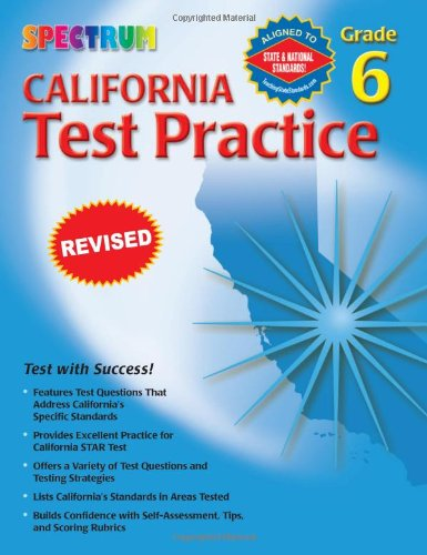 Spectrum State Specific: California Test Practice, Grade - The California Spectrum
