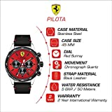 Scuderia Ferrari Men's Pilota Stainless Steel
